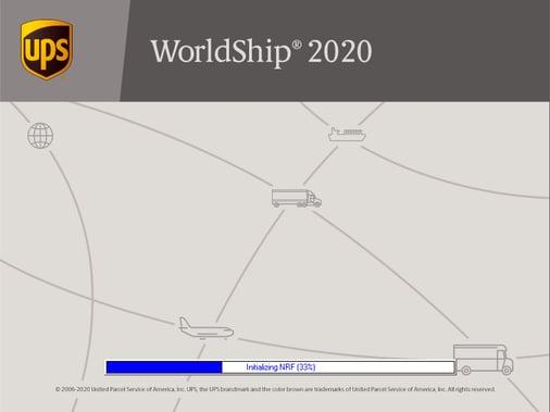 WorldShip installation