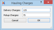 hauling-charges
