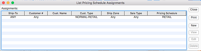 listPricingScheduleAssignments